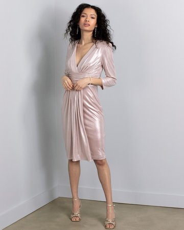 Draped Sheath