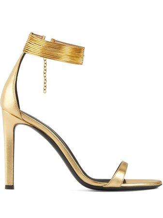 Giuseppe Zanotti Kay Jewel Anklet Sandals - Farfetch