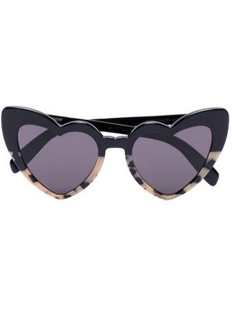 Saint Laurent Eyewear New Wave Loulou Sunglasses - Farfetch