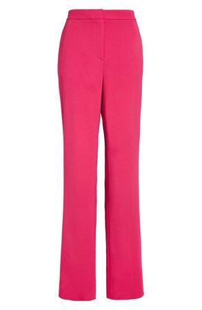 St. John Evening High Waist Stretch Cady Pants | Nordstrom