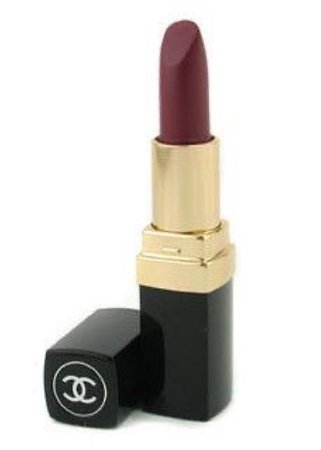 Chanel dark red lipstick