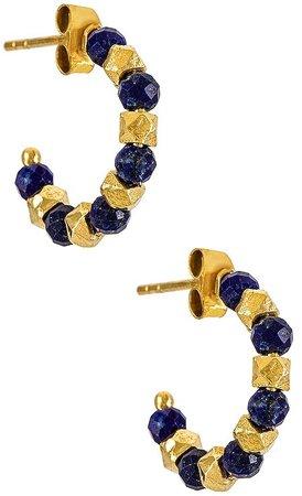 Arms Of Eve Aztec Hoop Earrings