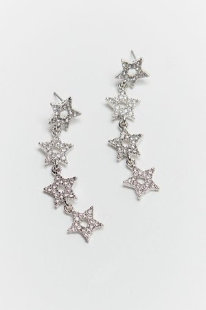 Star Statement Drop Earring | Urban Outfitters