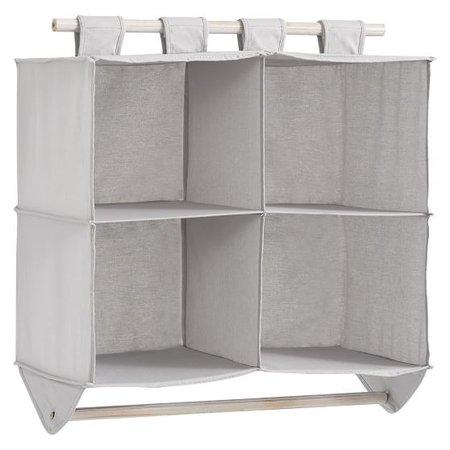 Hanging Closet Double Bar Organizer | PBteen