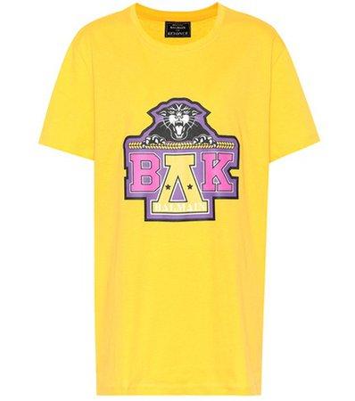 X Beyoncé printed cotton T-shirt