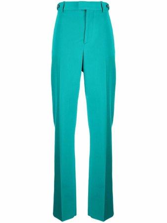 Bottega Veneta high-waist Straight Trousers - Farfetch
