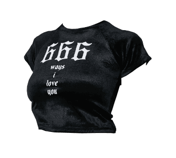 666 ways I love you black shirt polyvore moodboard filler | moodboard, png, filler, minimal, overlay in 2018 | Pinterest | Shirts, Mood boards and Polyvore