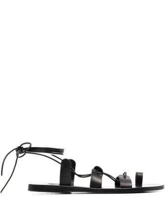 Ancient Greek Sandals Alcyone strappy sandals black ALCYONEVBLACK - Farfetch