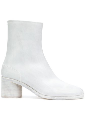 Maison Margiela Tabi Ankle Boots S37WU0310SY1093 White | Farfetch
