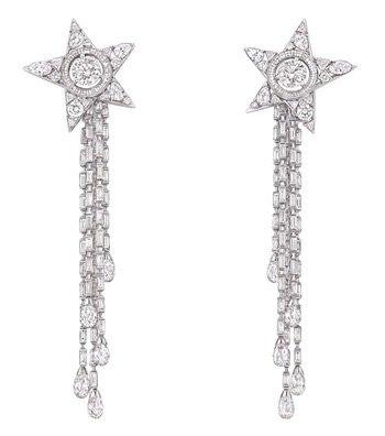 Chanel Comète Shooting Star Earrings