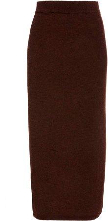 byTiMo Teddy Knit Pencil Skirt