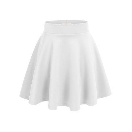 Simlu - Simlu Womens Skater Skirt, A Line Flared Skirt Reg & Plus Size Skater Skirts USA - Walmart.com