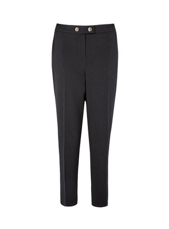 Black Crepe Trousers   Dorothy Perkins