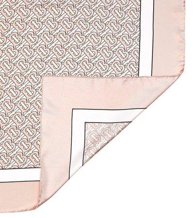 Logo Silk Scarf | Burberry - Mytheresa