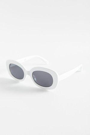 Shea Chunky Rectangle Sunglasses   Urban Outfitters