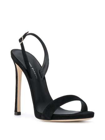 Giuseppe Zanotti open-toe Strappy Heeled Sandals - Farfetch