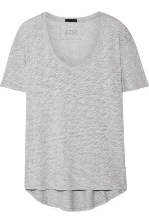 ATM Anthony Thomas Melillo | Boyfriend slub Supima cotton-jersey T-shirt | NET-A-PORTER.COM