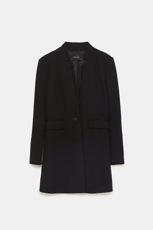 DOUBLE LAPEL FROCK COAT - Coats-COATS-WOMAN-NEW COLLECTION | ZARA United States