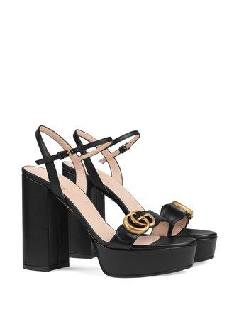 Gucci Platform Sandal With Double G - Farfetch
