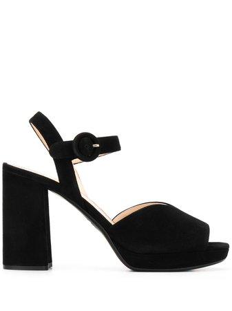 Black Prada 105Mm Platform Sandals   Farfetch.com