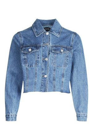 Seam Detail Pocket Denim Jacket | boohoo