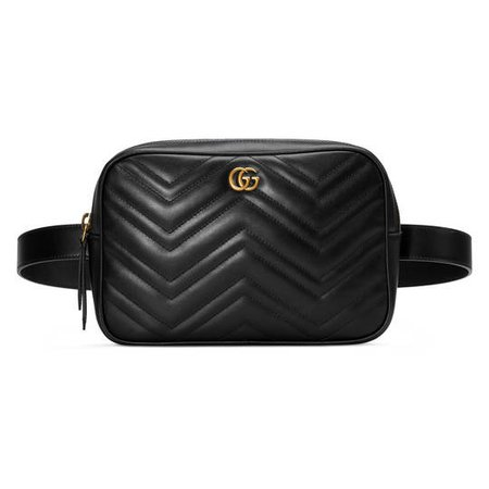 GG Marmont matelassé belt bag - Gucci Gifts for Men 523380DTDHT1000