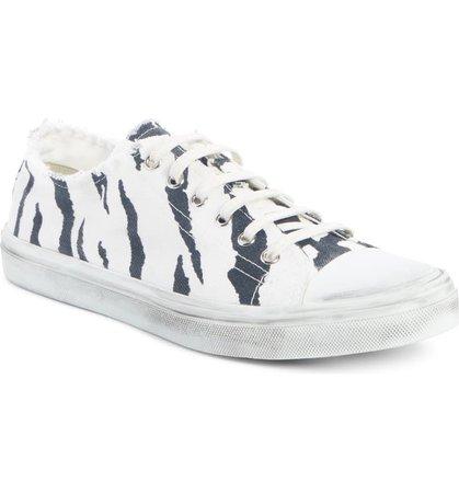 Saint Laurent Bedford Lace-Up Sneaker (Women) | Nordstrom