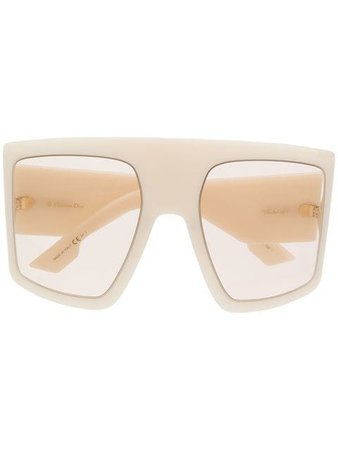 Dior Eyewear Lunettes De Soleil à Monture Oversize - Farfetch