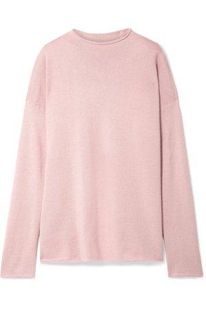 Mansur Gavriel   Oversized alpaca and silk-blend sweater   NET-A-PORTER.COM