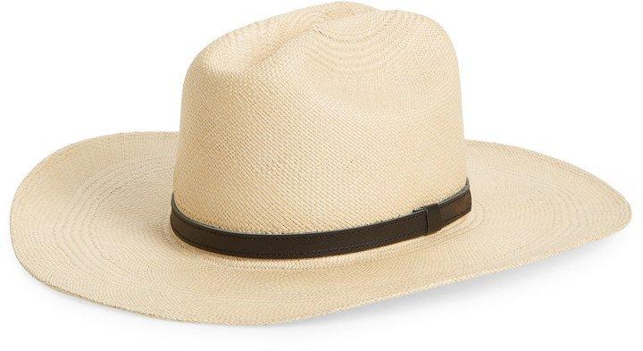 Woven Panama Straw Hat