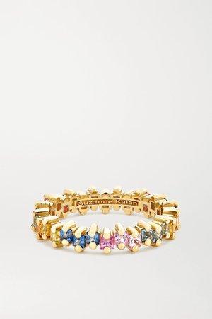 Gold 18-karat gold sapphire ring | Suzanne Kalan | NET-A-PORTER