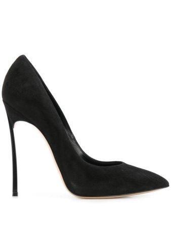 Casadei Flamingo stiletto pumps black 1F410D125HHCMSC - Farfetch