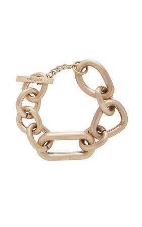 Reyes Oversized Brass Bracelet By Cult Gaia   Moda Operandi
