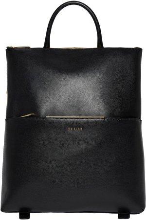 Kryshia Leather Backpack
