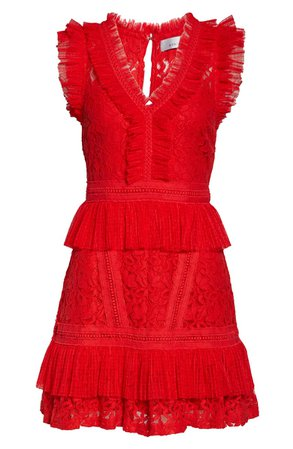 Adelyn Rae Deven Lace Cocktail Dress | Nordstrom
