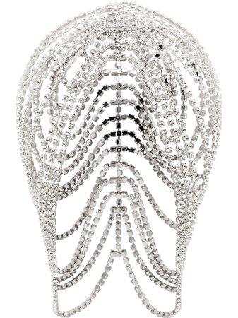 AREA Crystal Headpiece - Farfetch
