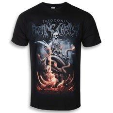 T-SHIRTS black - metal-shop.eu