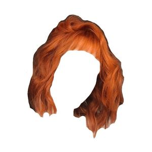 Orange Short Hair PNG