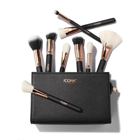 Complete Eye Set Black and Rose Gold – ICONIC LONDON