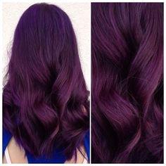 hair purple