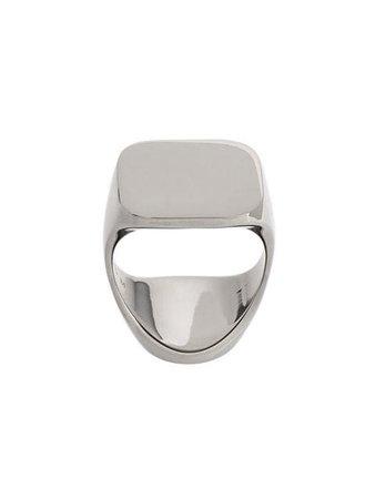 Maison Margiela squared armour ring