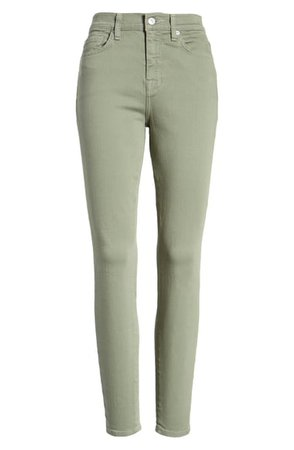 7 For All Mankind® High Waist Ankle Skinny Jeans | Nordstrom