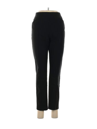 So Slimming by Chico's Solid Black Dress Pants Size Med (1) - 77% off | thredUP