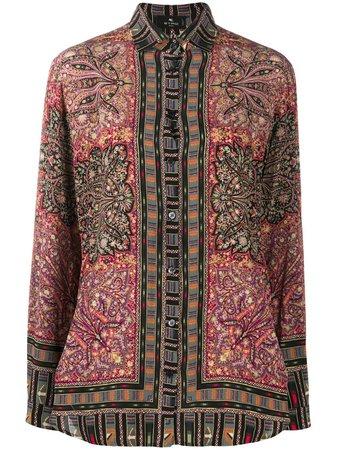 Etro paisley-print Shirt - Farfetch