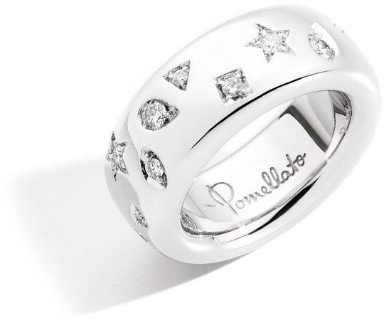 Iconica Diamond Band Ring