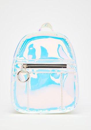 HOROSCOPEZ Holographic Mini Backpack   Dolls Kill