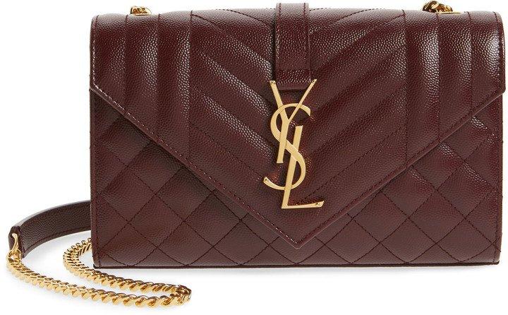 Small Cassandre Leather Shoulder Bag