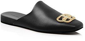 Women's Flat Cosy Bb Mule Slide Sandals