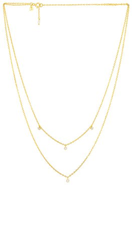 By Charlotte Gold Droplets Necklace in Gold | REVOLVE