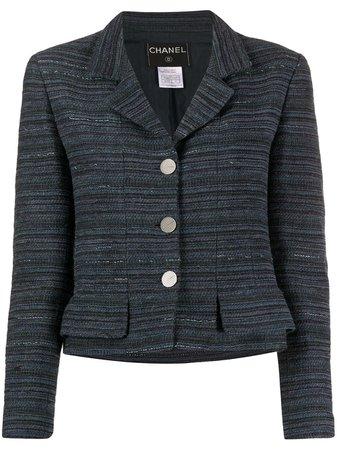 Pre-Owned 1996 Cropped Tweed Jacket